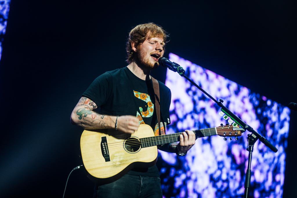 Ed Sheeran Ceremonie Muziek