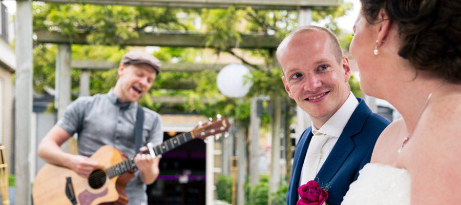 Bruiloft muziek in Rotterdam