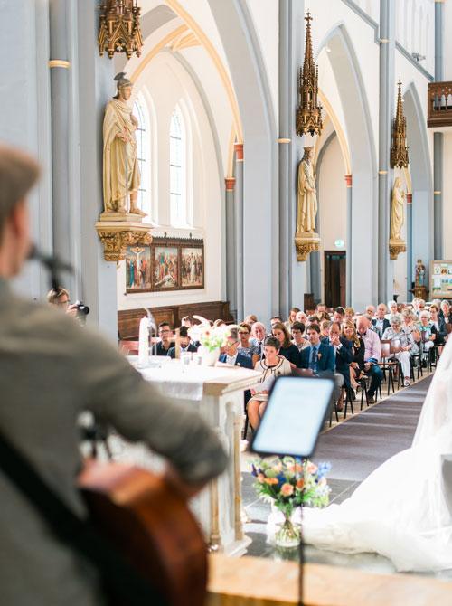 Kerkelijk huwelijk met live muziek Wedding Tunes