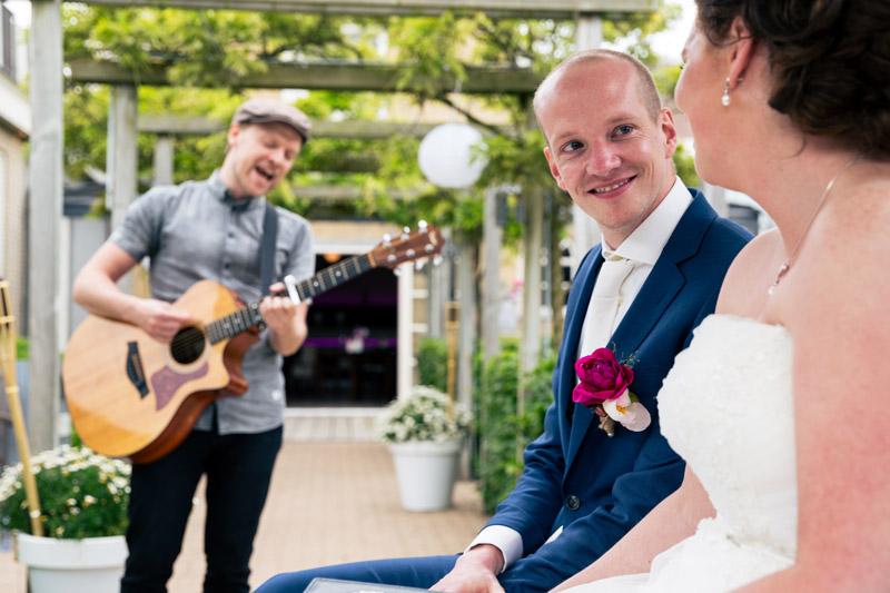 Muziek bruiloft ceremonie foto 1