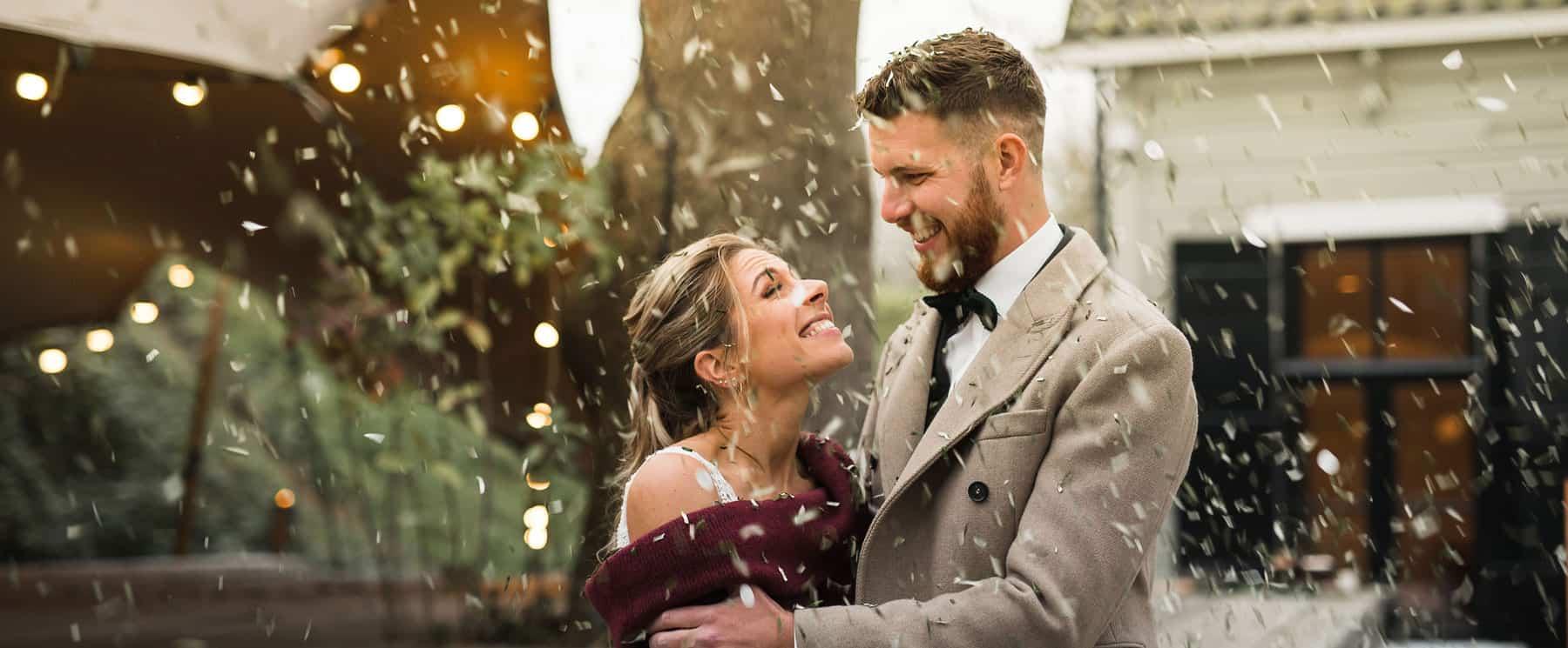 Inspiratie: Winter bruiloft met warme klanken