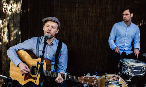 Live Muziek Bruiloft Receptie I Singer Songwriter I Wedding